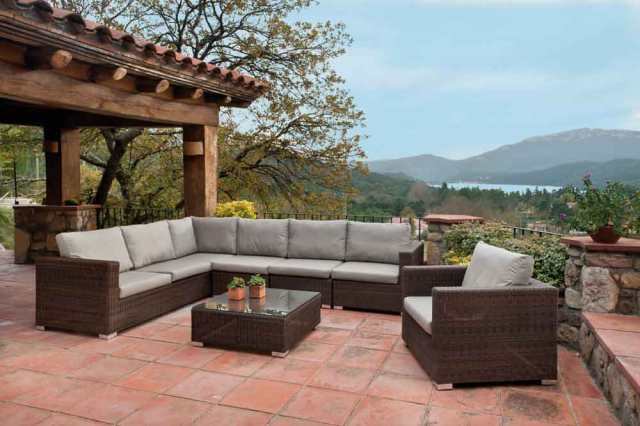 Ideas para decorar porches con el mobiliario de terraza - Muebles para porches ...